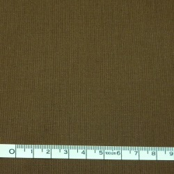 Dark brown plain fabric - 50cm