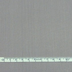 Grey plain fabric - 50cm