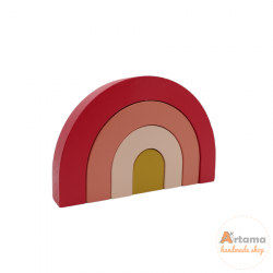 Red Mini wood Rainbow
