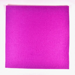 Light purple wool thick felt - 20x20cm