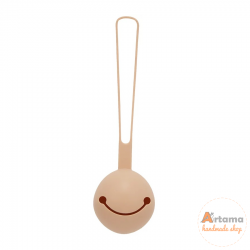 Nude silicone pacifier holder