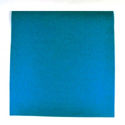 Cornflower wool thick felt - 20x20cm