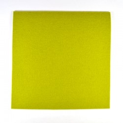 Light green wool thick felt - 20x20cm