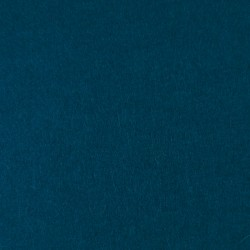 Petrol blue wool thin felt - 20x80cm