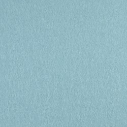 Light blue wool thin felt - 20x80cm