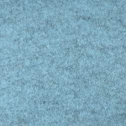 Marbled blue wool thin felt - 20x90cm