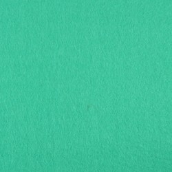 Light turquoise wool thin felt - 50x160cm
