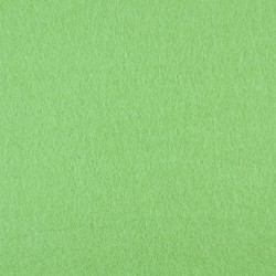 Light green wool thin felt - 50x160cm