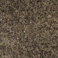 Marbled dark brown wool thin felt - 50x180cm