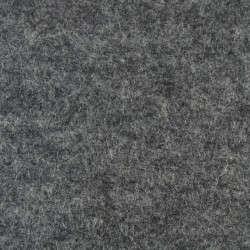Marbled dark grey wool thin felt - 50x180cm
