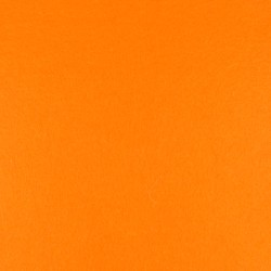 Orange wool thick felt - 50x180cm