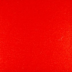 Red wool thick felt - 50x180cm
