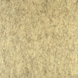 Marbled light brown wool thick felt - 50x180cm