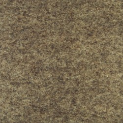 Marbled dark brown wool thick felt - 50x180cm