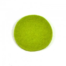 3 Large Round - Light green