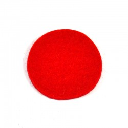 3 Large Round - Red