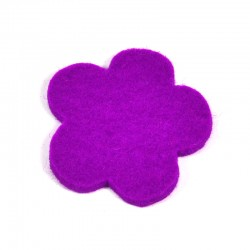3 Large Flower - Light purple