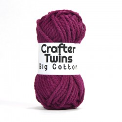 Big Cotton aubergine