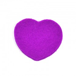 3 Large Heart - Light purple