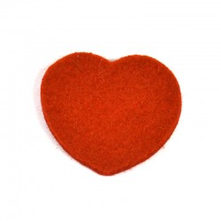 3 Large Heart - Redbrick