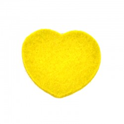 3 Large Heart - Yellow