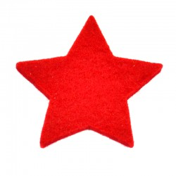3 Large Star - Red