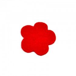 5 Medium Flower - Red