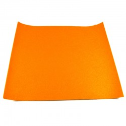 Adhesive felt - Orange - 22x22,5cm