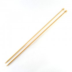 Bamboo knitting needles - 2,75mm
