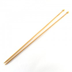 Bamboo knitting needles - 3,25mm